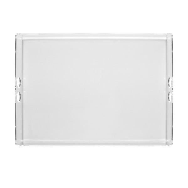 Podnos Tray Clear, 22x31 cm