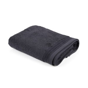 Tmavosivý uterák Jerry, 50 x 100 cm