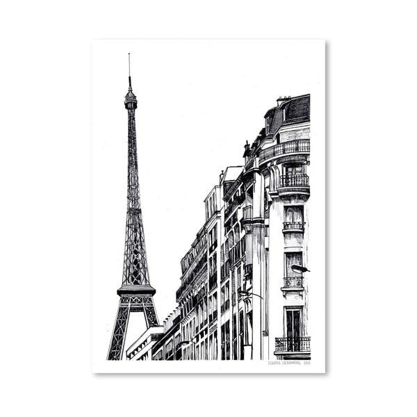 Plagát Paris, 30x42 cm