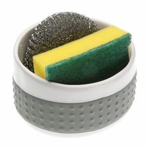Sivý držiak na umývacie pomôcky Versa Support