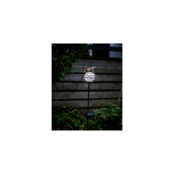 Vonkajšie solárne LED svietidlo Best Season Sicily Owl