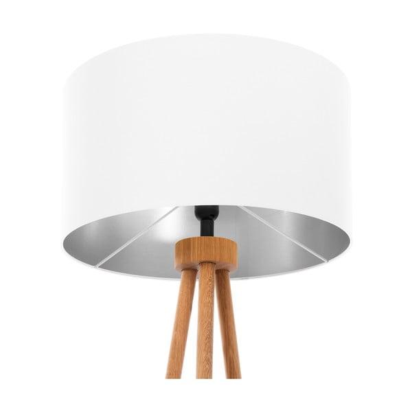 Stojacia lampa White Silver