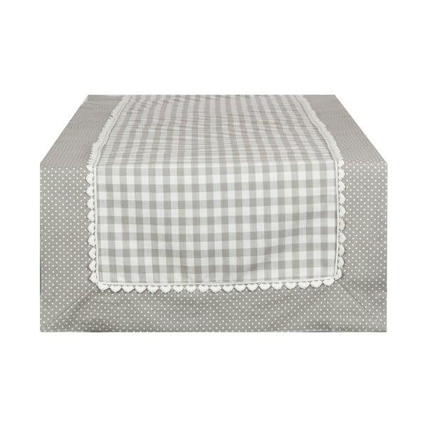 Behúň Basic Hearts 50x140 cm, sivý