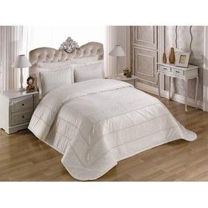 Pléd cez posteľ na dvojlôžko s obliečkami na vankúše Dream, 260×260cm