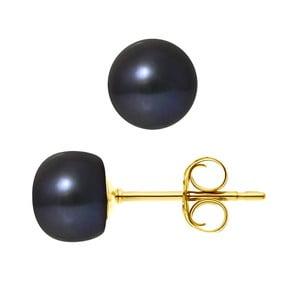 Náušnice s riečnou perlou Monica