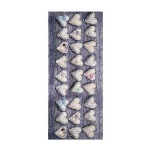 Vysokoodolný koberec Webtappeti Vintage, 58 x 80 cm