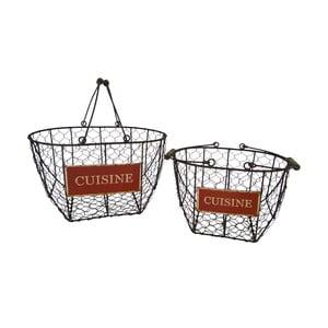 Sada 2 košíkov Antic Line Cuisine Basket