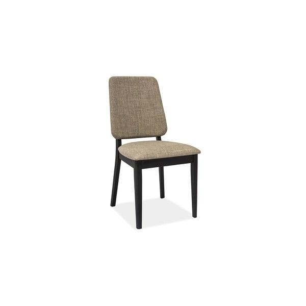 Jedálenská stolička Fiori, béžovo-sivá