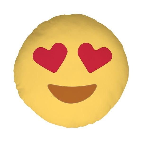 Vankúš Emoji Hearts, 39 cm