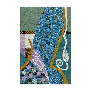 Koberec Klimt Peacock, 150x90 cm