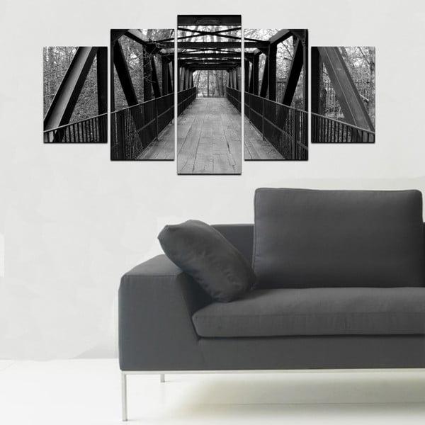 Viacdielny obraz Black&White no. 48, 100x50 cm