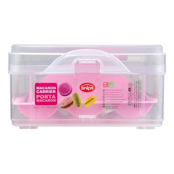 Prenosný box na makrónky Macaron Holder