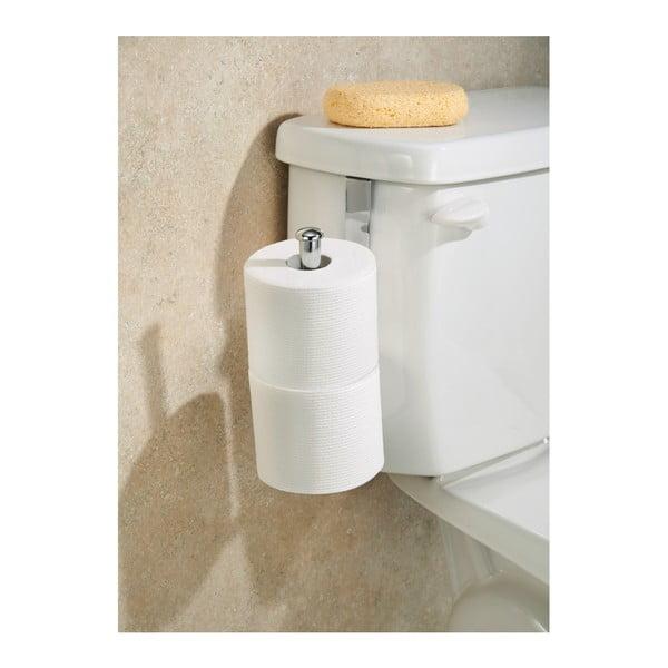Závesný stojan na toaletný papier InterDesign Classico Chrome