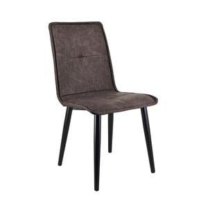 Tmavosivá jedálenská stolička Moycor Melissa