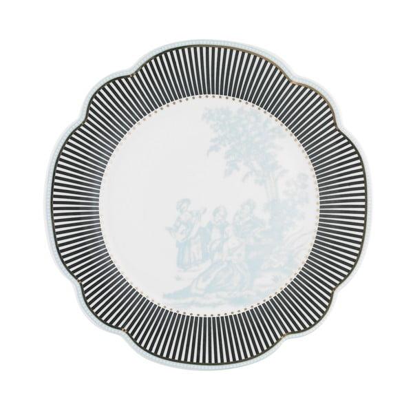 Porcelánový tanier  Toile od Lisbeth Dahl, 19 cm, 4 ks