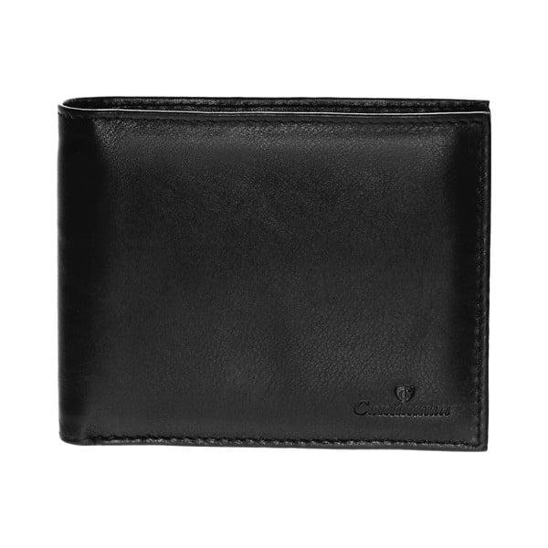 Kožená peňaženka Continuum 1511, jednoduché prešívanie
