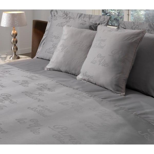 Obliečka na vankúš Paris Grey, 50x50 cm