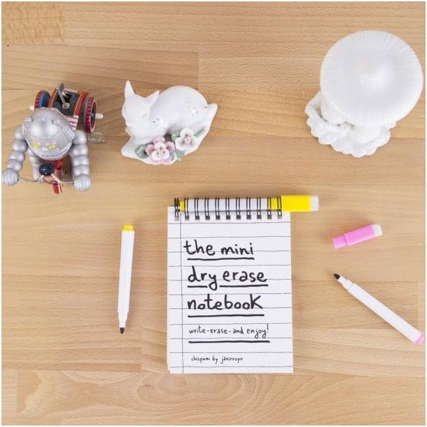Tabuľový zápisník Mini Whiteboard