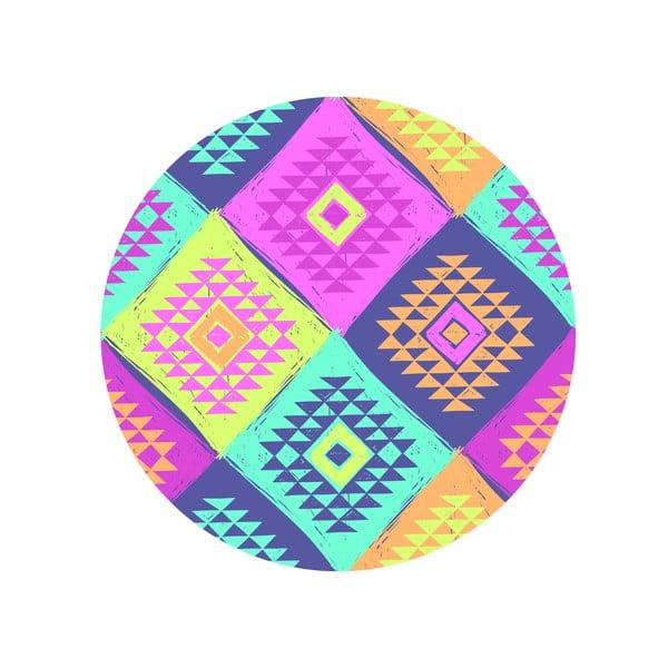 Jedálenský stôl Colorful Triangles, 120 cm
