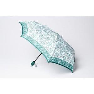 Skladací dáždnik Damask, zelený