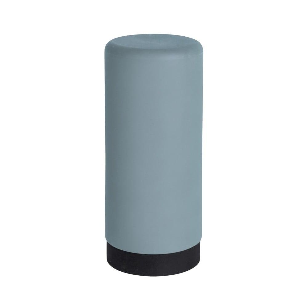 Modrý silikónový dávkovač na tekuté mydlo Wenko Easy Squeez-e