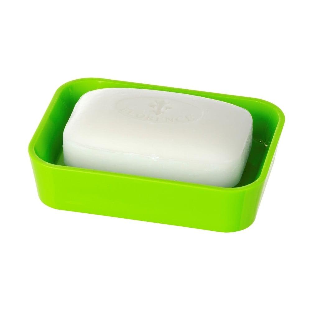 Zelená podložka pod mydlo Wenko Candy