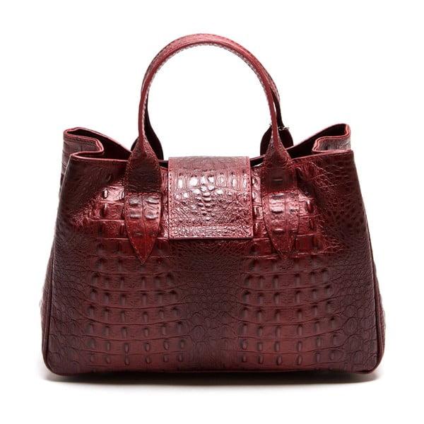 Kožená kabelka Maria 614 Rosso