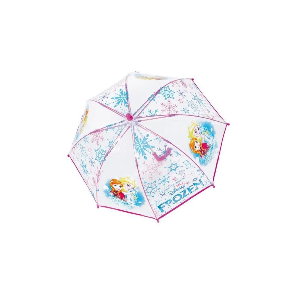 054e5ec92ff86 Detský transparentný dáždnik Birdcage Frozen Anna & Elsa, ⌀ 66 cm ...