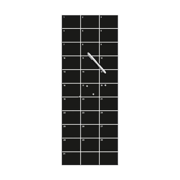 Magnetická tabuľa Eurographics My Month Black, 30 x 80 cm