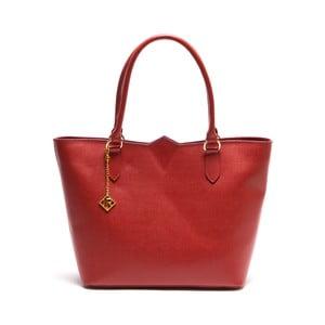 Kožená kabelka Ellie 440 Rosso