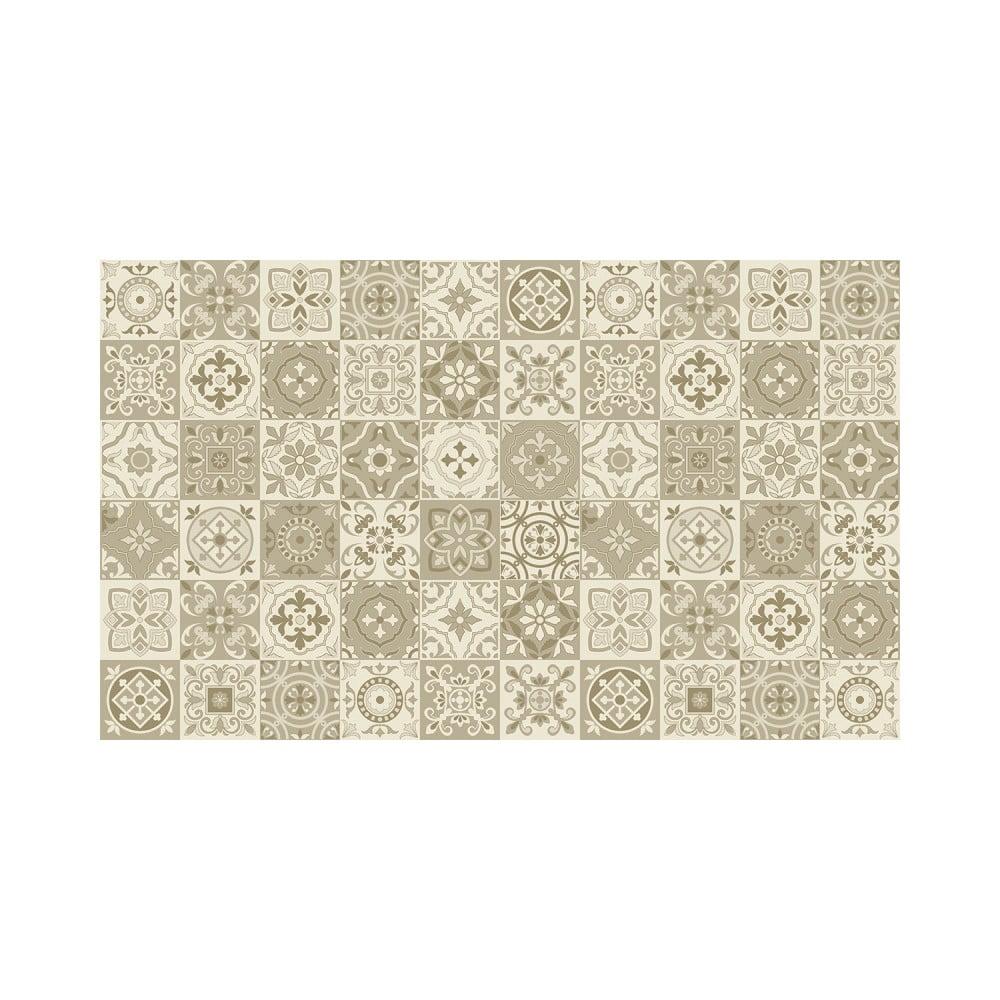 Sada 60 nástenných samolepiek Ambiance Wall Decal Cement Tiles Fortunato, 15 × 15 cm
