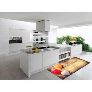 Vysokoodolný kuchynský koberec Webtappeti Sweethearts, 60×115cm