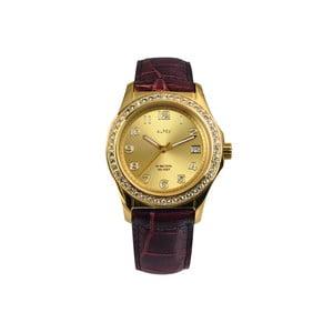 Dámske hodinky Alfex 56778 Yelllow Gold/Brown