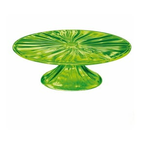 Zelený podnos na tortu Fratelli Guzzini Cake