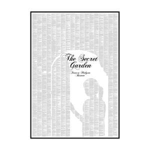 Knižný plagát Tajná záhrada, 70x100 cm