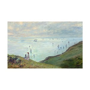 Obraz Claude Monet - Cliffs at Pourville, 50x30 cm