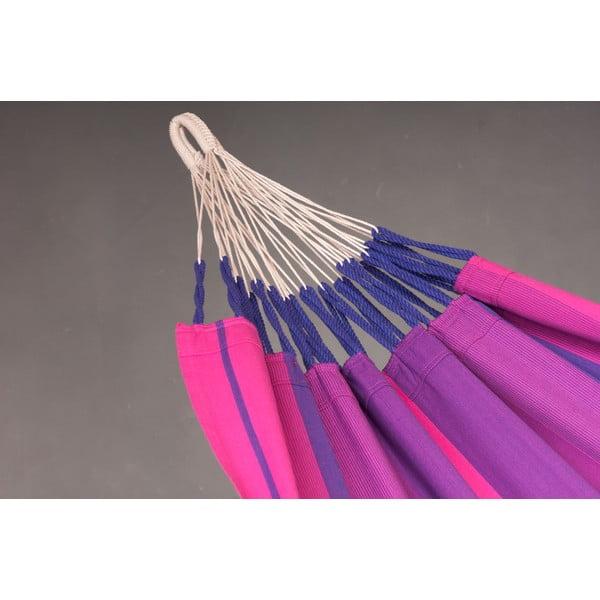 Hojdacia sieť Orquidea pre jedného, fialová