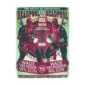 Obraz Pyramid International Deadpool Wade VS Wade, 60 × 80 cm