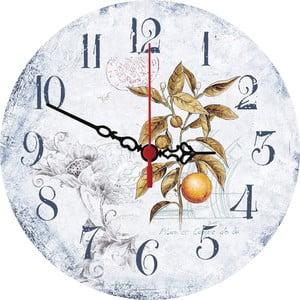 Nástenné hodiny Orange, 30 cm