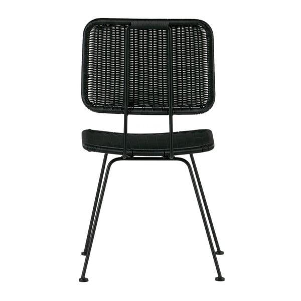 Sada 2 čiernych stoličiek De Eekhoorn Hilde