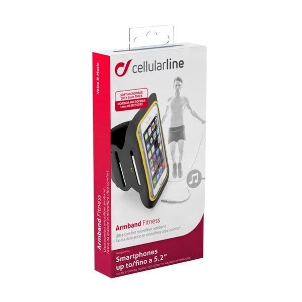 Športové soft puzdro CellularLine, čierne