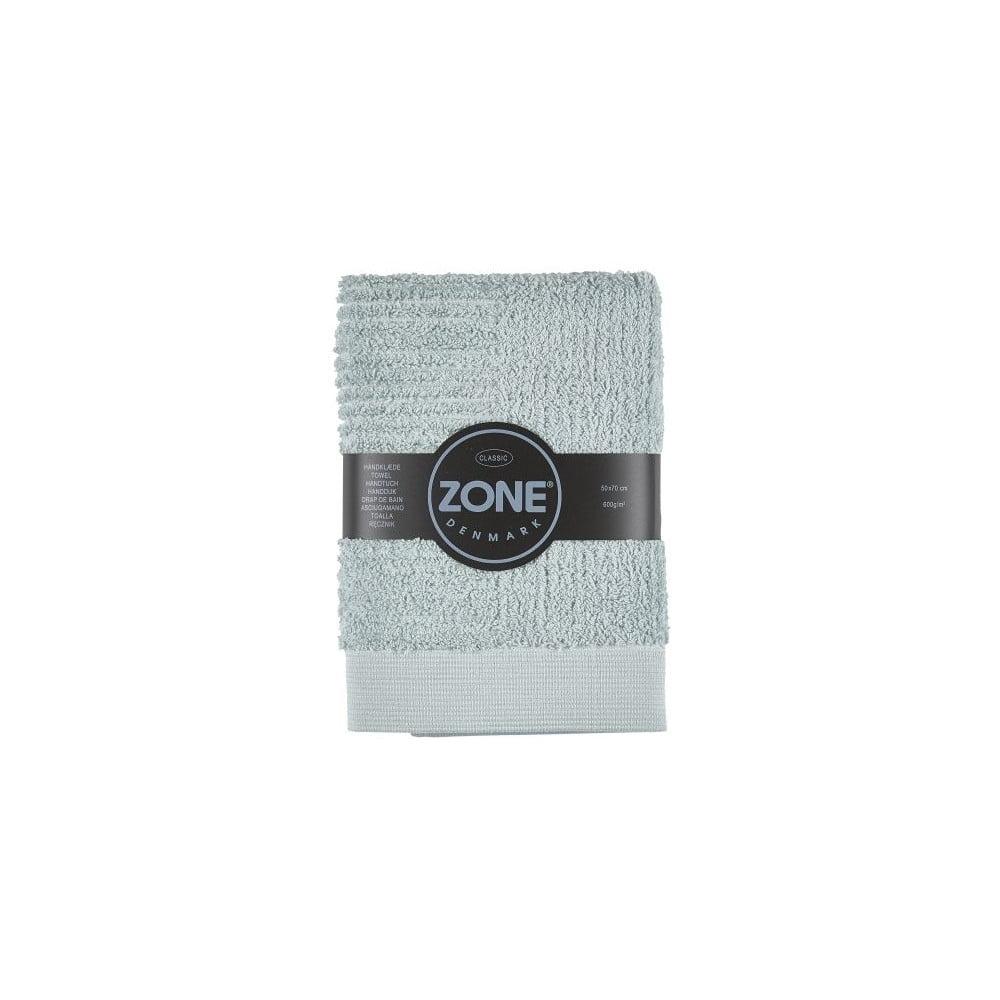 Sivozelený uterák Zone Classic, 50 x 70 cm