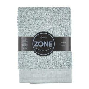 Šedozelený ručník Zone Classic, 50x70cm