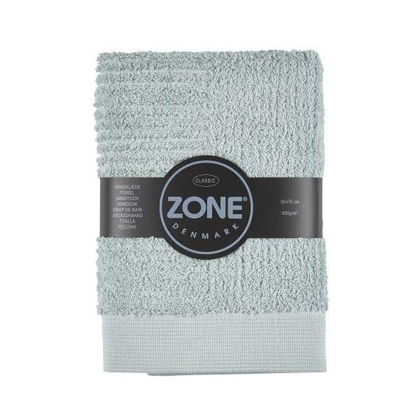 Sivozelený uterák Zone Classic, 50x70cm