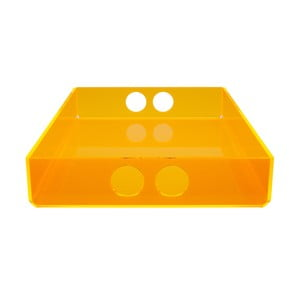 Podnos Tray Orange, 22x31 cm
