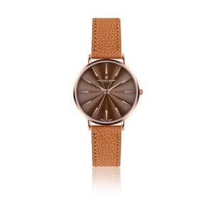 Dámske hodinky s koňakovohnedým remienkom z pravej kože Frederic Graff Rose Monte Rosa Lychee Ginger Brown