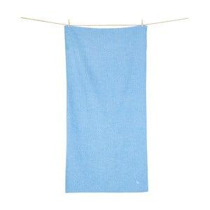 Rýchloschnúci modrý uterák Dock and Bay Active