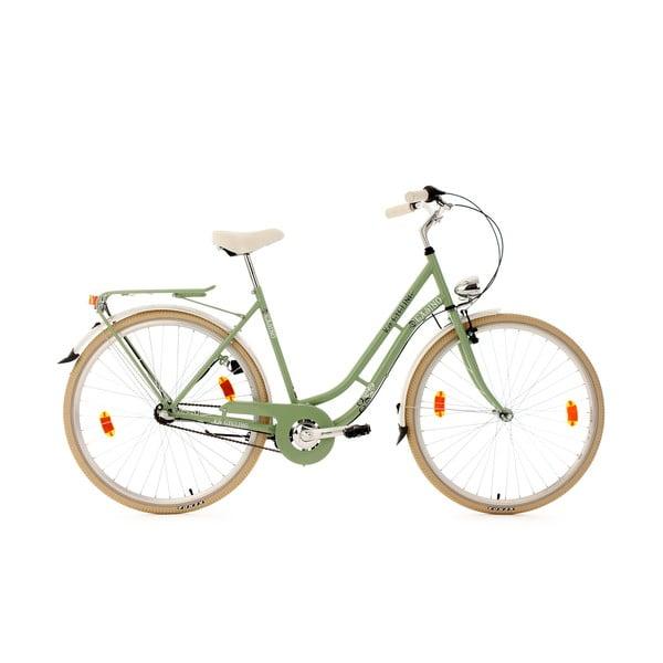 "Dámsky bicykel City Bike Casino Mint Gang, 28"""