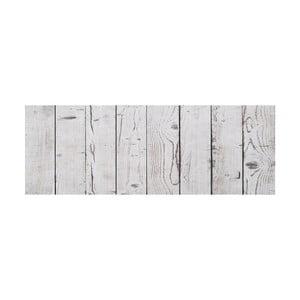Vinylový koberec Tablas Blanco Gris, 50x100 cm