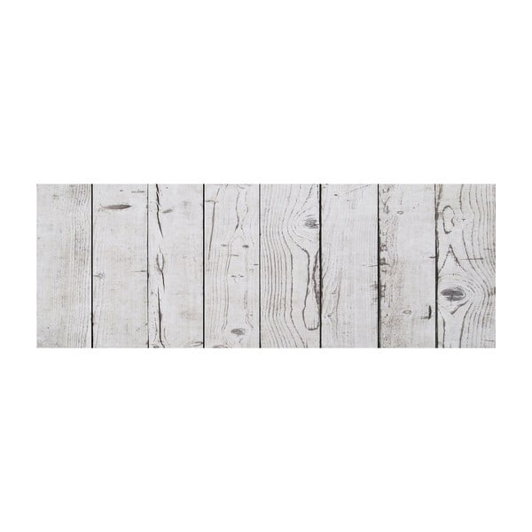 Vinylový koberec Tablas Blanco Gris, 50x120 cm